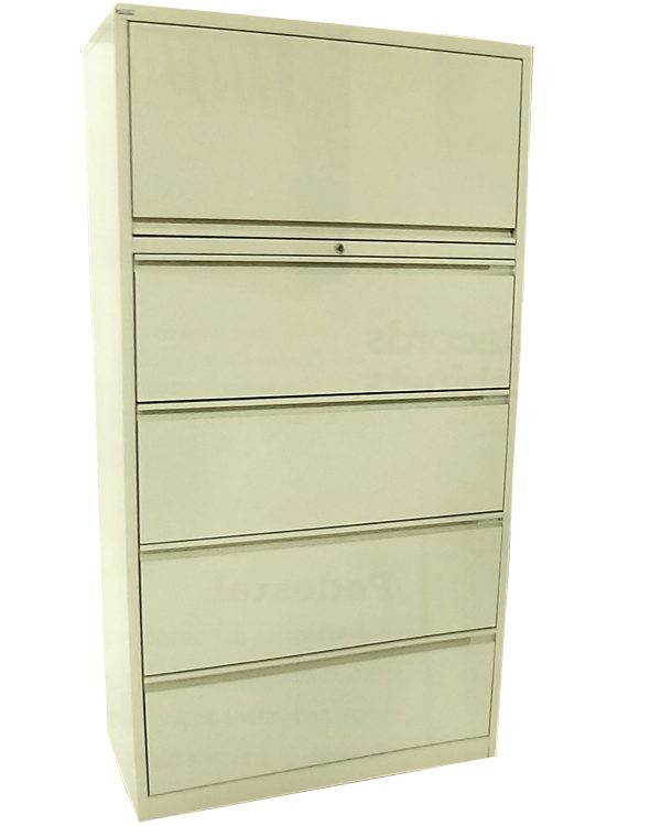 lateral 5 drawer